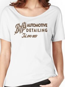 Biff's Automotive Detailing Women's Relaxed Fit T-Shirt