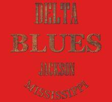 Rusty delta blues jackson mississippi One Piece - Short Sleeve