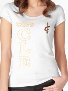 CLE Ceveland game finals 6 2016 Women's Fitted Scoop T-Shirt