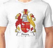 Finney Coat of Arms / Finney Family Crest Unisex T-Shirt