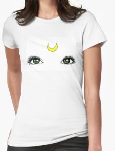 Sailor Moon Eyes Womens Fitted T-Shirt