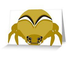 Money Spider (down) Greeting Card
