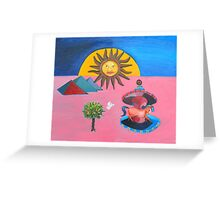 Ra Greeting Card
