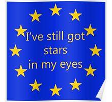 I've still got stars in my eyes, EU Poster