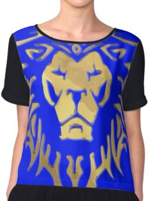 LION OF STORMWIND Chiffon Top