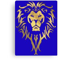 LION OF STORMWIND Canvas Print