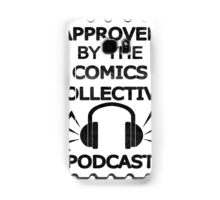 Comics Collective Podcast Logo Samsung Galaxy Case/Skin