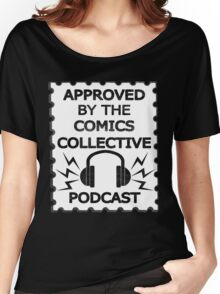 Comics Collective Podcast Logo Women's Relaxed Fit T-Shirt