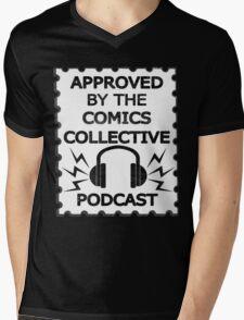 Comics Collective Podcast Logo Mens V-Neck T-Shirt