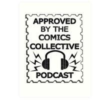 Comics Collective Podcast Logo Art Print