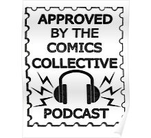 Comics Collective Podcast Logo Poster