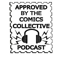 Comics Collective Podcast Logo Photographic Print