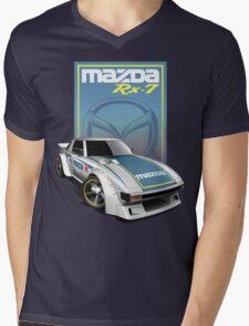Japan Speed Car Mens V-Neck T-Shirt