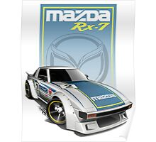 Japan Speed Car Poster