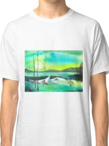 White Boat Classic T-Shirt