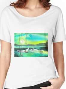White Boat Women's Relaxed Fit T-Shirt