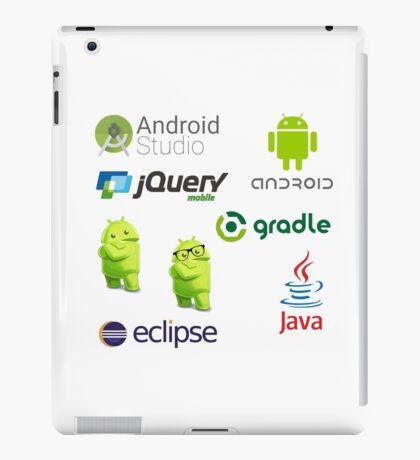 android programming lenguage sticker set iPad Case/Skin