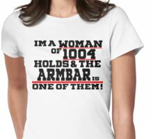 Woman Of 1,004 Holds! Womens Fitted T-Shirt