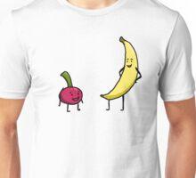 Cherry and Banana Unisex T-Shirt