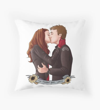 Two Thousand Years In The Making Throw Pillow