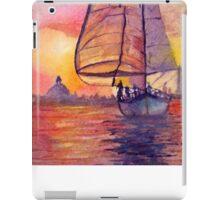 Sunset Sailing iPad Case/Skin