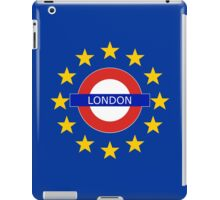 London Shall Remain iPad Case/Skin