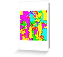 Abstract X2-14 Greeting Card