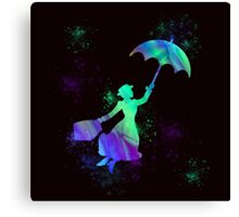 magical mary poppins Canvas Print