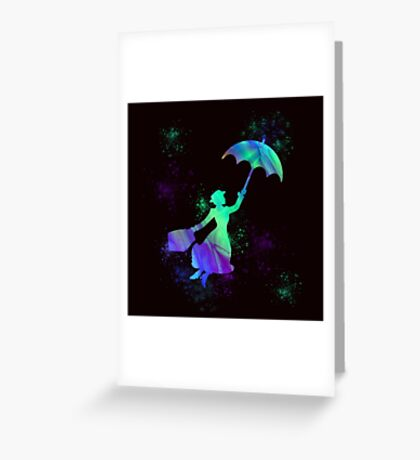 magical mary poppins Greeting Card
