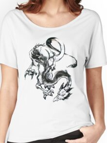 Dragon Brush Women's Relaxed Fit T-Shirt