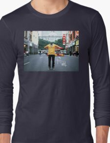Invisible in the city. Urban Explorer Long Sleeve T-Shirt