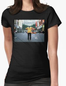 Invisible in the city. Urban Explorer Womens Fitted T-Shirt