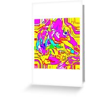 Abstract X2-15 Greeting Card