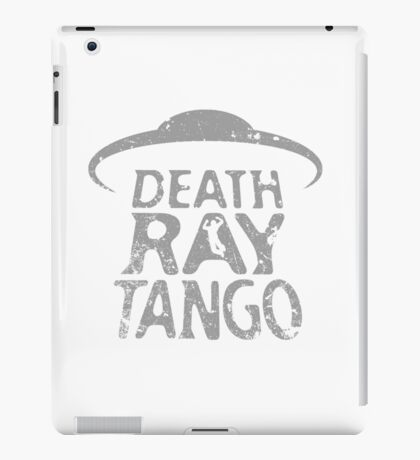 Death Ray Tango Logo iPad Case/Skin