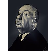 Presenting Alfred Hitchcock Photographic Print