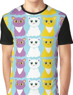 Only Three Cats Graphic T-Shirt