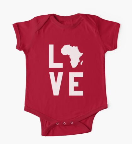 With Love from Africa One Piece - Short Sleeve
