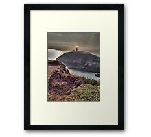 South Stack Lighthouse 2 Framed Print