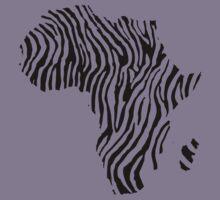 Zebra Africa Kids Tee