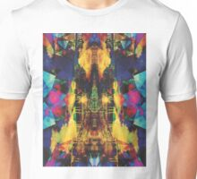 Eiffel Tower In Color Unisex T-Shirt