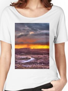 Minera Sunset 3 Women's Relaxed Fit T-Shirt