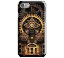 Infernal Steampunk Vintage Machine #2B iPhone Case/Skin