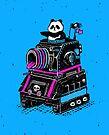 Panda's Skull Tank by RonanLynam