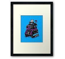 Panda's Skull Tank Framed Print