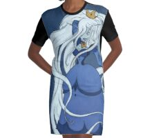 Rule 63: Ice Queen Graphic T-Shirt Dress