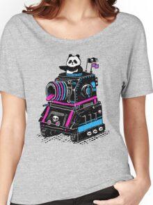 Panda's Skull Tank Women's Relaxed Fit T-Shirt