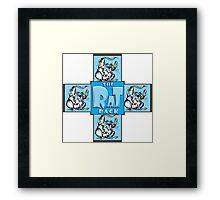 The Rat Pack Framed Print