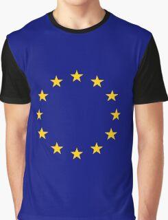 Living EU Flag Graphic T-Shirt