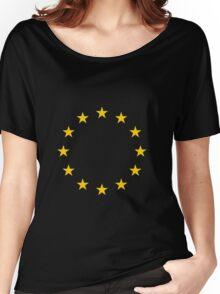 Living EU Flag Women's Relaxed Fit T-Shirt