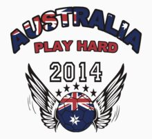 World Cup 2014:Team  Australia by seazerka